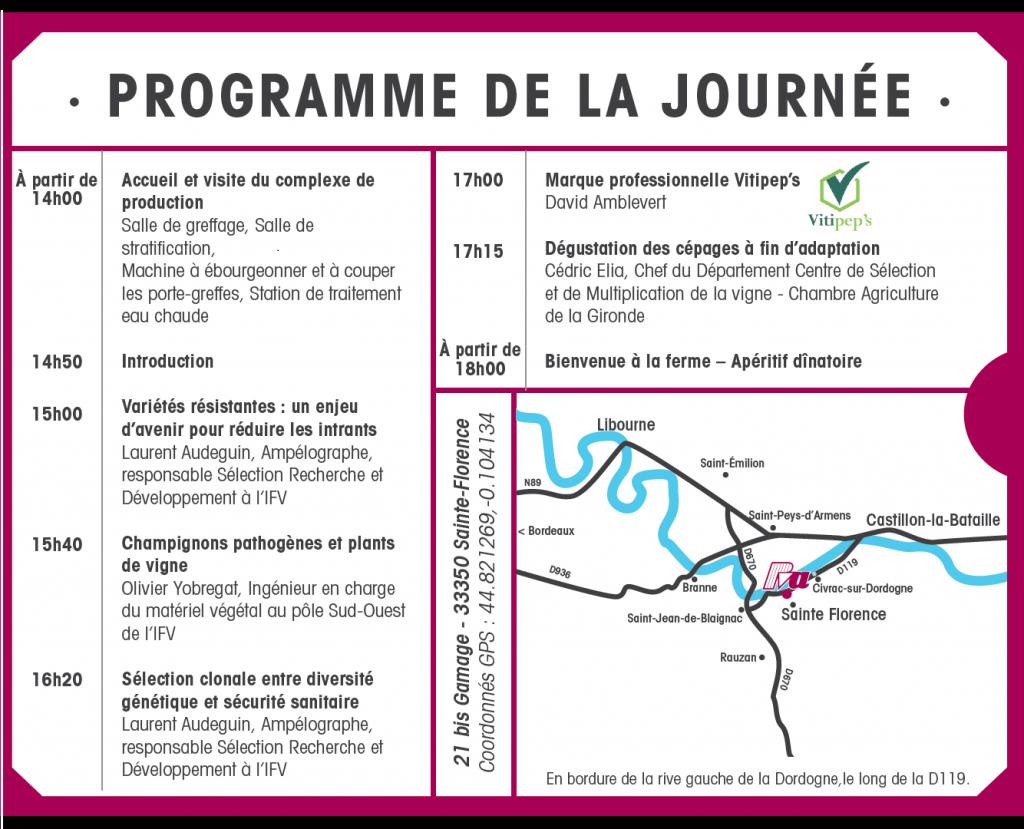 Programme 21 mars 2019